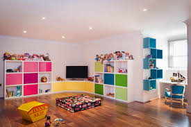Kids playroom  a place filled with joy and happiness