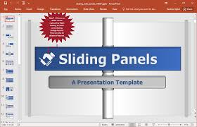 animated sliding panels effect powerpoint template  template is an awesome general purpose template by presenter media that can help you make the most ordinary presentation topics more interesting