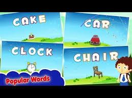 4 letter words four letter phonics