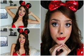 minnie mouse tutorial makeup hair outfit