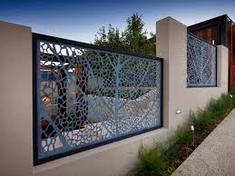 Beautiful Minimalist Fence For Home Decor