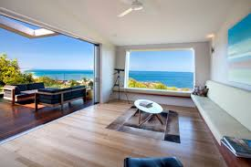 interior design for new home. Amazing View On Beach House Interior Design With An Open Air And A Set Of Chair For New Home
