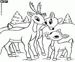 Small Picture Rudolph the Red Nosed Reindeer coloring pages printable games
