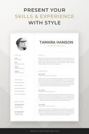 304 Best Resume Templates For Mac Pages Images In 2019
