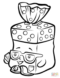 Bakery Coloring Pages Bread Head Shopkin Page Free Printable 825