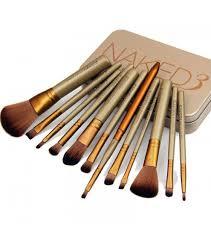 ma099 3 makeup cosmetic brush set 12 pcs