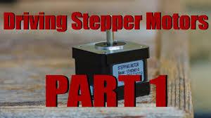 How To <b>Drive Stepper Motors</b> The Easiest Way! - YouTube