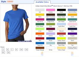 Gildan 8000 T Shirts Blend Ultra 50 50 Cotton Polyester T Shirts
