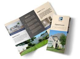Brochures Awesome Open House Tri Fold Brochure Template Mycreativeshop