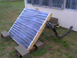 the aquaponics gardener solar hot water heater for fish tanks