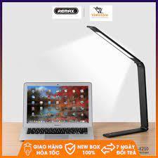 Đèn học, đèn bàn công nghệ LED tích điện thông minh chống cận đa chức năng  thiết kế nhôm cao cấp Remax RT - E210 - Đèn bàn