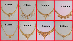 Small Gold Chain Designs With Price Latest Gold Necklace Designs Under 10 Grams Light Weight Short Gold Necklace Collection
