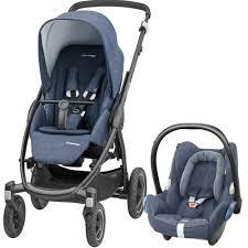 maxi cosi stella cabriofix travel system nomad blue