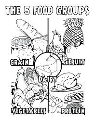 Healthy Foods Coloring Pages 39781 Octaviopazorg