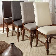 nailhead dining chairs dining room. Upholstered Nailhead Dining Chairs Bring A Regal Yet Contemporary Look To Your Area With This Room R