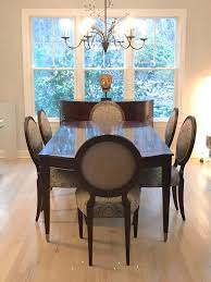 dining room chairs used. Ethan Allen New Country Collection Dining Table And Chairs Used French Thomasville Cherry Room Set For R