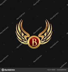 Luxury B B Lake District Grand Designs Letter B With Wings Logo Luxury Letter B Emblem Wings Logo