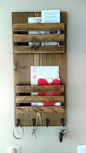 2 tier mail organizer mail holder mail rustic organizer personalized option available