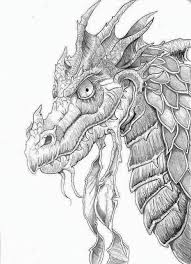 Adult Coloring Pages Dragons At Getdrawingscom Free For Personal