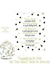 Birthday Guest Book Template Free Guest Book Page Template Powerpoint Templates Design