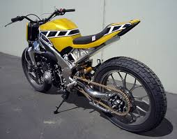 yamaha r1 street tracker from gregg s customs