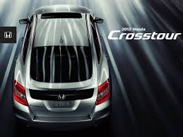 Honda 2012 Crosstour Sales Brochure