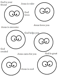 Small Picture Jesus Coloring Pages