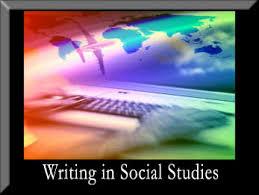 writing in history social studies