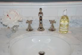 country kitchen column spout: rohl country bath widespread with column spout and cross handles