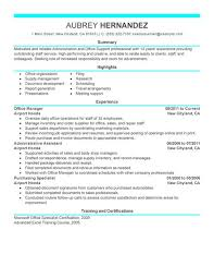 Best Of Administrative Resume Examples