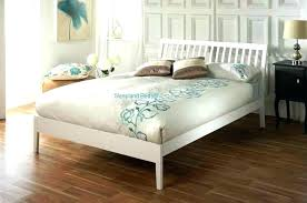 Full Size White Wood Canopy Bed Modern Headboards Of Epic Single On ...