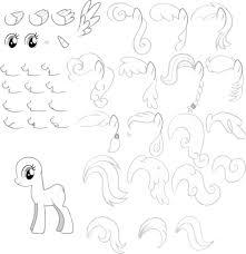 Mlp Draw Pony By Pennygu On