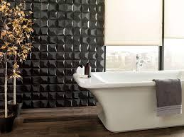 3d wall tile bathroom. Wonderful Tile Bathroom Tile Ideas  Install 3D Tiles To Add Texture Your   Dark For 3d Wall I