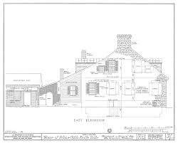 File Drawing Of The East Elevaton Of The Felix Vallee House In Ste