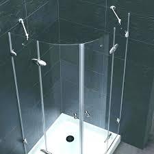 corner shower kit stall kits home depot