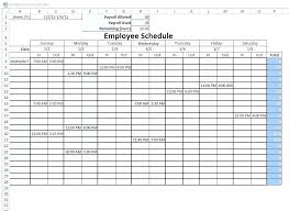 Schedule Maker For Work Excel Quote Builder Template Free Employee Schedule Maker Work