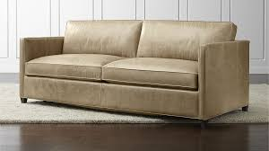lovable leather sleeper sofas perfect home design ideas with dryden leather queen sleeper sofa lib mushroom