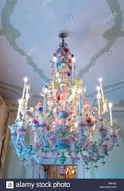 Italien Mira Villa Widmann Der Bunte Antike Kronleuchter