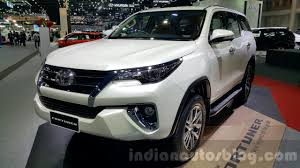 new car launches in january india2016 Toyota Fortuner to launch in January in Indonesia