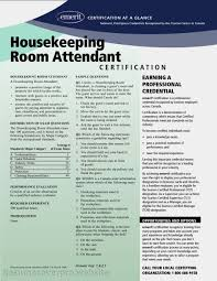 Resume Resume For Housekeeper