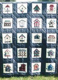 My Birdhouse quilt | My Quilts | Pinterest | Birdhouse, Patchwork ... & Birdhouse Quilt Adamdwight.com