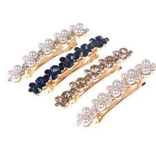 Fashion <b>Women Shining Crystal</b> Rhinestone Hairpin Barrettes Girls ...