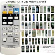 universal all in one wall ceiling fan remote control compatible for wings deka elmark kdk alpha