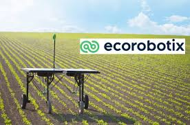 ecorobotix solar powered autonomous robot weeder