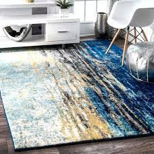 blue area rugs 8x10 solid navy rug nuloom verona