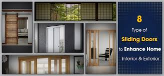 8 type of sliding doors to enhance home