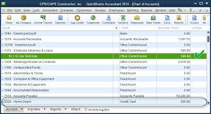 Employee Loan Recorded Chart Of Accounts Quickbooks For