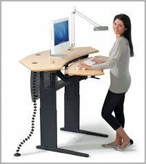 creative of standing computer desk standing computer desk ergonomics desk home furniture design