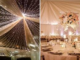 Wedding Design Ideas Ceiling Draping With Or Without Lights Stunning Ideas For Wedding Ceiling Decorations Everafterguide