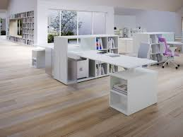 white home office design big white. Outstanding Modern White Home Office Design Featuring Modular Desk With Bookcase And Shelf . Big R